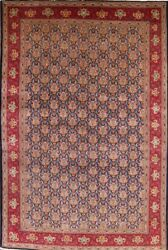 Decorative Vintage 11x17 Palace Size Kashmar Oriental Area Rug Wool Hand-knotted