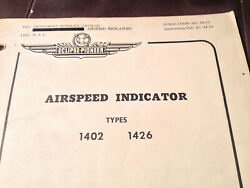 Eclipse Pioneer Airspeed 1402 And 1426 Overhaul Catalog