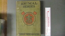 Boy Scout Every Boys Library Animal Heroes Seton Book 6534ii
