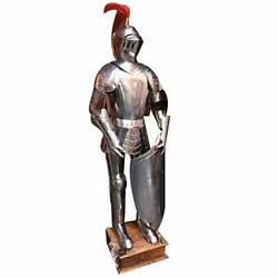 Medieval Knight Suit Of Armor Full Body Armor Suit With Shield