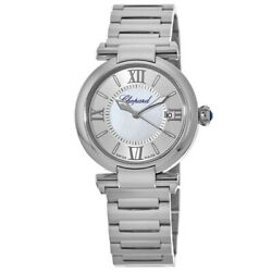 New Chopard Imperiale Automatic 29mm Mother Of Pearl Womenand039s Watch 388563-3002