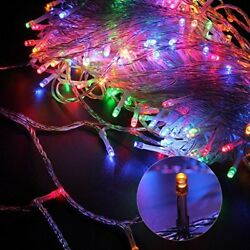 100-1000 LEDs String Fairy Lights Clear Wires Party Wedding Xmas Dorm Room Decor