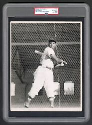 Josh Gibson Original Photograph PSADNA Type 1 Used for 1950-1951 Toleteros Card