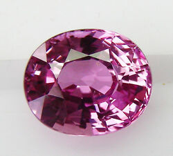 2.67ct Pink Ceylon Sapphire Natural Untreated Colour +certificate Included