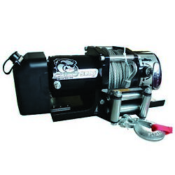 Bulldog Winch 10029 5800lb Trailer Winch 55and039 Wire Rope Roller Low Profile