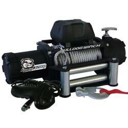 Bulldog Winch 10046 12000lb Winch W/6.0hp Series Wound 100ft Synthetic Rope