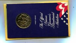 1976 Kansas Commemorative First Edition Medal With Envelope 9565m