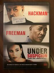 Under Suspicion Dvd Monica Bellucci Thomas Jane Morgan Freeman Gene Hackman