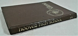 Vintage 1975 Hoover High School Annual Yearbook North Canton Ohio Viking Vol 50