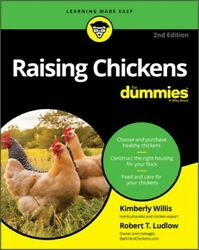 Raising Chickens for Dummies Paperback or Softback