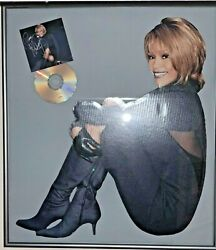 Whitney Houston Autograph Framed Promo Poster Fan Pack Signed By Whitney Houston