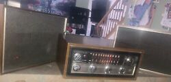 Vintage 70s Philco Stereo From Console With External Speakers Q-7 Mid Modern