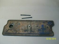 1956 Cadillac Lifter Valley Cover 365 Cid Engine Intake Used Original