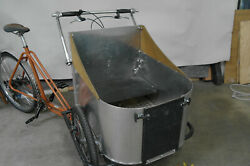 Front Loader Cargo Trike For Kids Or Dogs, Usa Built By Human Powered Machines