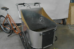 Front Loader Cargo Trike For Kids Or Dogs Usa Built By Human Powered Machines