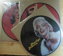 Three 3 x Marilyn Monroe Vinyl Picture Discs all in Excellent Plus condition
