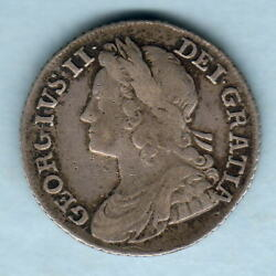 Great Britain. 1739 George 11 - Shilling.. Roses In Angles.. F+/avf