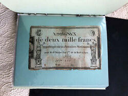 Assignat French Currency 1791 1792 1793 34 Currency Notes Various Lot