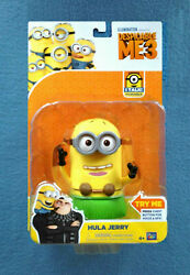 Minion Hula Jerry 6 Inch Talking Figure Despicable Me Thinkway Toys Minions