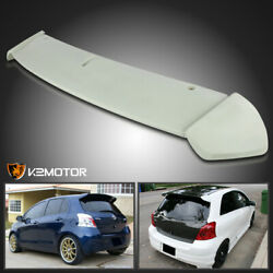 For 2006-2011 Toyota Yaris Hatchback Abs Factory Rear Roof Top Spoiler Wing Lip