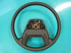And03980s Lincoln Mark Vii Steering Wheel - New Leather