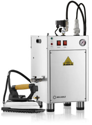 New Reliable 8000is X-long Hose Automatic Unlimited Steam Boiler Iron Station