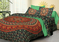 Indian mandala Round Elephant Duvet Cover Exclusive Pillow Cover