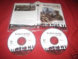 World War 1 In Color Dvd The Complete Landmark Tv Series 377 Minutes