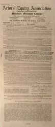 Jane Darwell Autographed Signed Contract Document 1946 Actorand039s Equity Ghosts