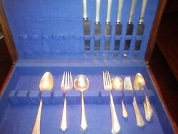 Lady Mary By Towle 925 Sterling Silver Flatware Set 40 Piece
