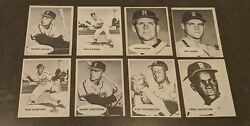 1961 Rochester Red Wings Team Lot 8 Eight Cards Postcard Post Card 1975 Tcma