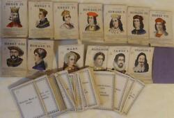 Victorian Playing Cards Educational History Royalty