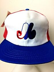 Deadstock Vintage Montreal Expos Snapback Hat Officially Licensed Mlb