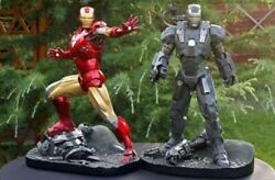 Sideshow Exclusive Iron Man And War Machine Maquette