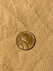 1940 Wheat Penny No Mint Stamp