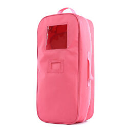 18 inch Doll Case Carrier Suitcase Storage Travel for American Girls Doll $14.50