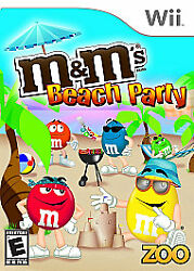 Mamp;M#x27;s Beach Party for Nintendo Wii WII Action Adventure Video Game $4.89