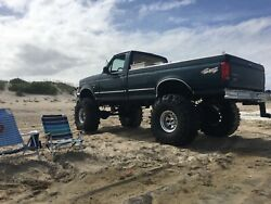 1997 Ford F-250 Powerstroke 7.3 Custom Lifted On 44andrsquos With New Transmissionandnbsp