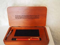 Parker Duofold Macarthur Fountain Pen Limited Edition New In Box 574/ 1945