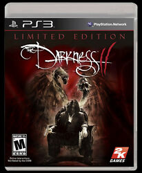 Playstation 3 Darkness Ii Brand New Video Game Limited Edition