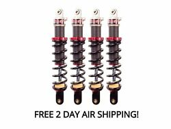 Elka Stage 1 Front And Rear Shocks Suspension Kit Yamaha Grizzly 660