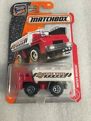 New 2017 Matchbox Mbx Water Worker 75/125 Red And White New On Card B69
