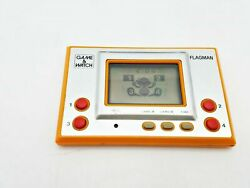 Used Nintendo Flagman Gameandwatch Working But Button Issues Japan