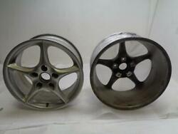 Porsche Boxster 986 Wheel Front Pair 986 362 136 03 Used Genuine Wr