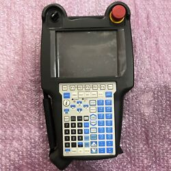 Used One Fanuc A05b-2255-c105emh Robot Teach Pendant Fully Tested