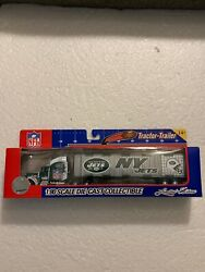 Nfl 2005 Ny Jets 180 Scale Die-cast Collectible Limited Edition Tractor-trailer