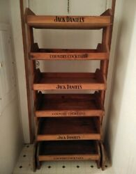 Jack Daniels Country Cocktails Wooden Display Rack