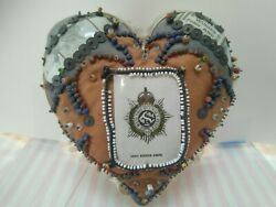 Vintage Sweetheart Pincushion Army Service Corps.