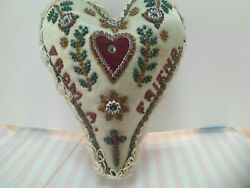 Vintage Sweetheart Pincushion From A Friend