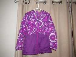 COLUMBIA girls large ready set snow thermal coil hooded jacket excellent